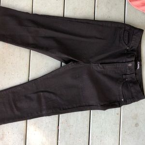 High Waisted, Black, Skinny Jeans